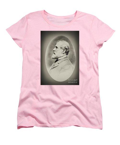 Robert E Lee - Csa Women's T-Shirt (Standard Cut) by Paul W Faust -  Impressions of Light
