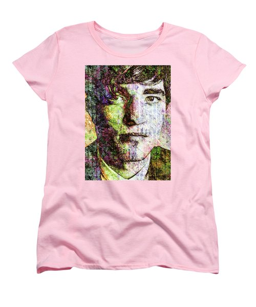 Robert Pattinson Women's T-Shirt (Standard Cut) by Svelby Art
