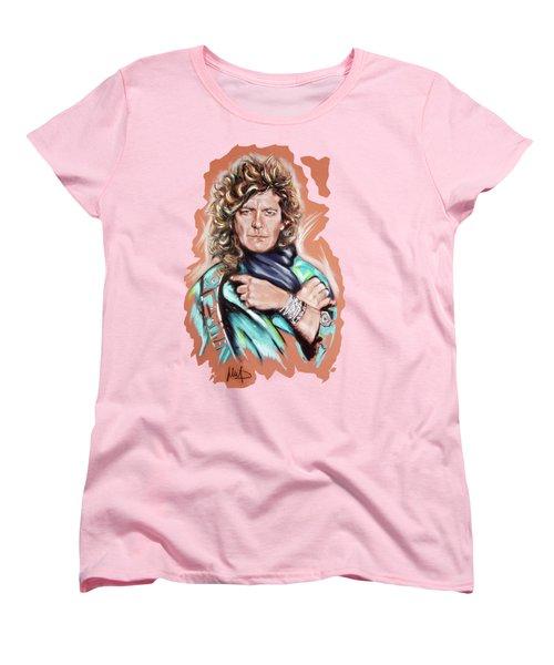 Robert Plant Women's T-Shirt (Standard Cut)