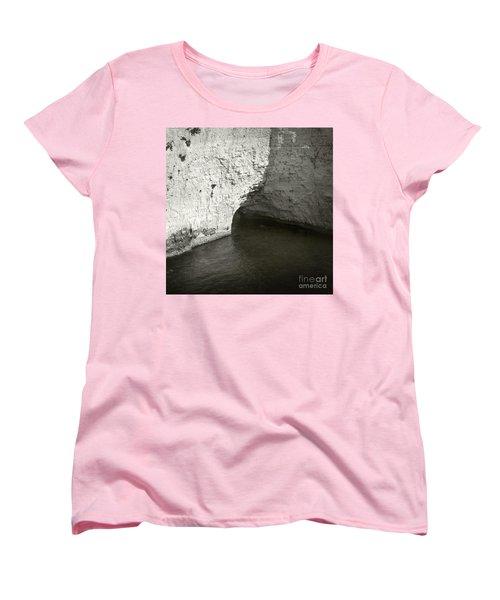 Rock And Water Women's T-Shirt (Standard Cut) by Sebastian Mathews Szewczyk