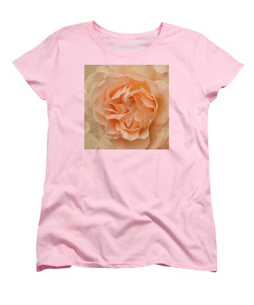 Romantic Rose Women's T-Shirt (Standard Cut) by Jacqi Elmslie