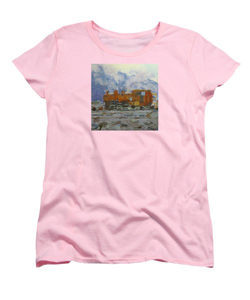 Rusty Loco Women's T-Shirt (Standard Cut) by David Gilmore