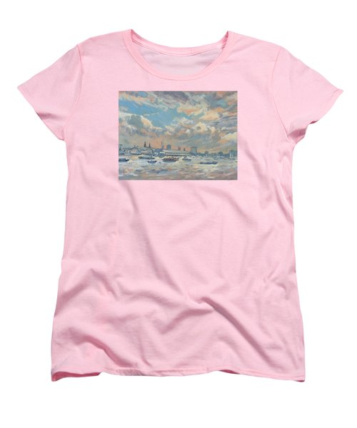 Sail Regatta On The Ij Women's T-Shirt (Standard Fit)