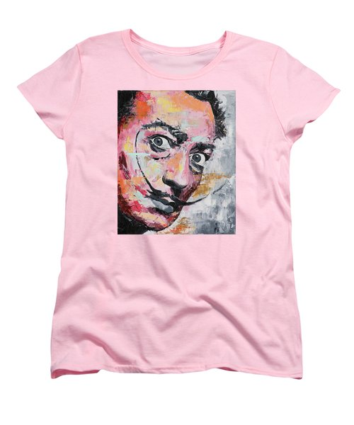 Salvador Dali Women's T-Shirt (Standard Cut) by Richard Day