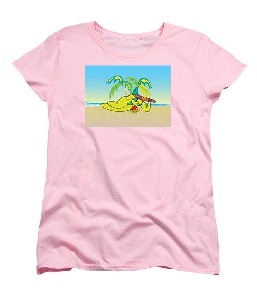 Samantha Women's T-Shirt (Standard Cut) by Steve Ellis