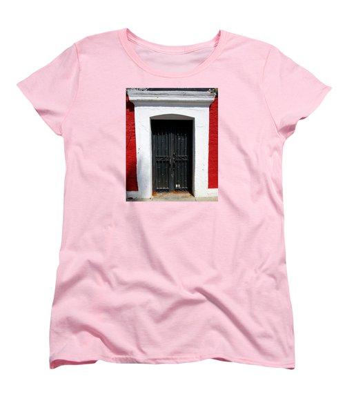 San Jose Del Cabo Door 8 Women's T-Shirt (Standard Cut) by Randall Weidner