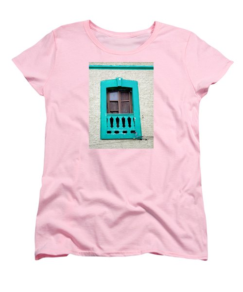 San Jose Del Cabo Window 12 Women's T-Shirt (Standard Cut) by Randall Weidner