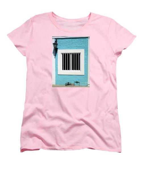 San Jose Del Cabo Window 9 Women's T-Shirt (Standard Cut) by Randall Weidner