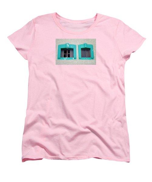 San Jose Del Cabo Windows 13 Women's T-Shirt (Standard Cut) by Randall Weidner