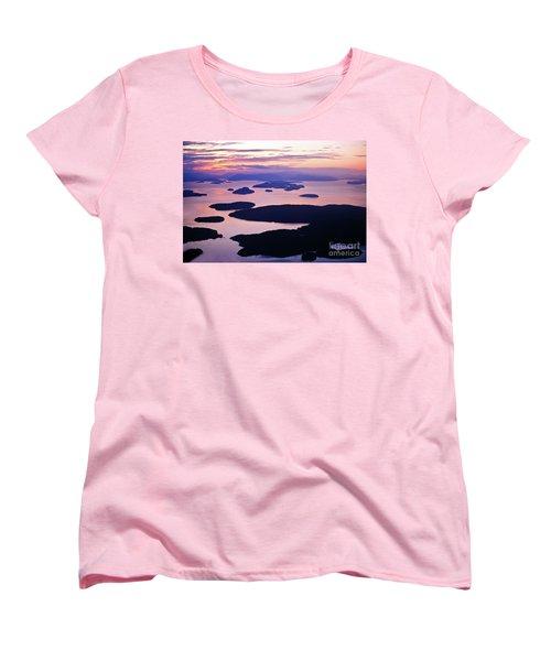 San Juans Tranquility Women's T-Shirt (Standard Cut) by Mike Reid