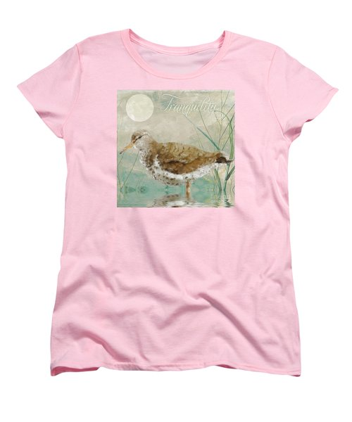 Sandpiper II Women's T-Shirt (Standard Cut) by Mindy Sommers