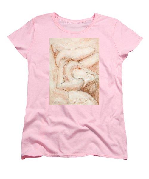 Sanguine Nude Women's T-Shirt (Standard Cut) by Kerryn Madsen-Pietsch