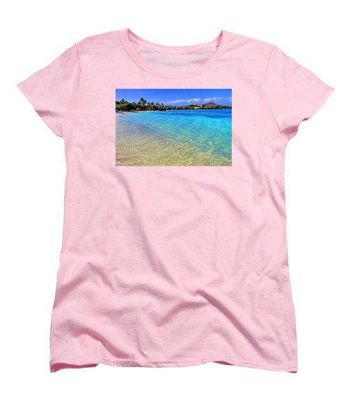 Sapphire Glow Women's T-Shirt (Standard Cut) by Scott Mahon