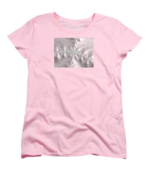 Satin Women's T-Shirt (Standard Cut) by Elaine Teague