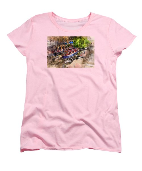 Saturday Afternoon At Camden Lock Women's T-Shirt (Standard Cut) by Nicky Jameson