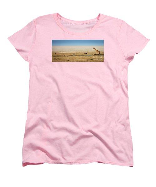 Savanna Life Women's T-Shirt (Standard Cut) by Inge Johnsson