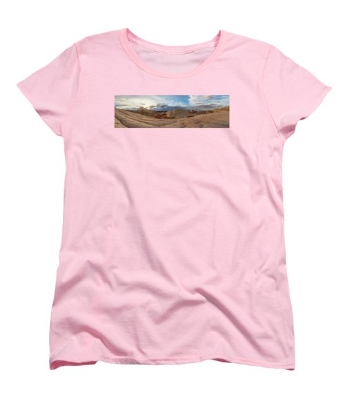 Women's T-Shirt (Standard Cut) featuring the photograph Savor The Solitude by Dustin LeFevre