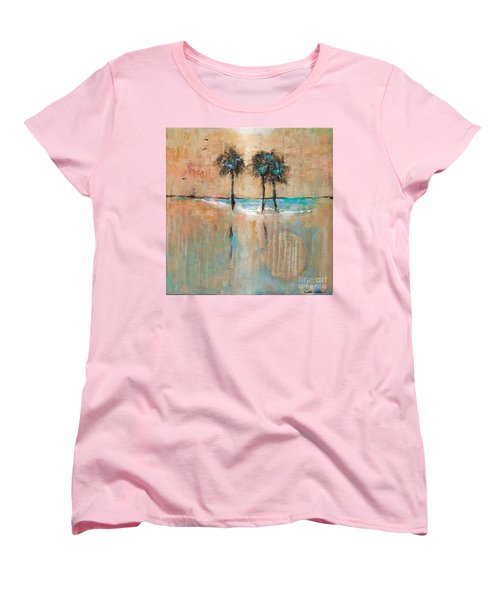 Sb Park Women's T-Shirt (Standard Cut) by Linda Olsen