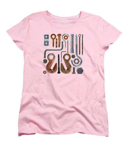 Screws, Nut Bolts, Nails And Hooks Women's T-Shirt (Standard Fit)