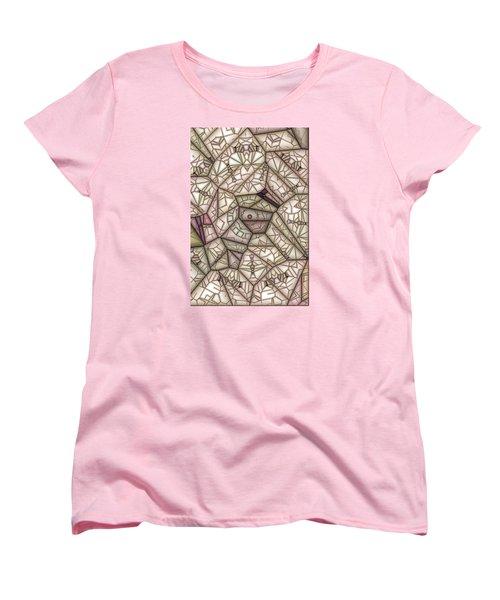 Scribed Women's T-Shirt (Standard Cut) by Ron Bissett