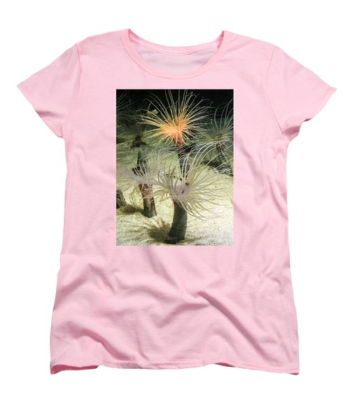 Sea Flower Women's T-Shirt (Standard Cut) by Daniel Hebard