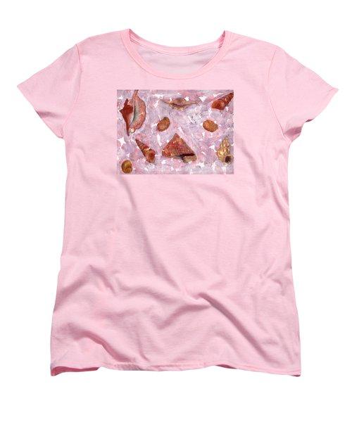 Sea Shells Women's T-Shirt (Standard Cut)