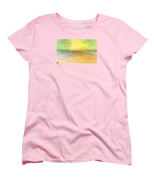 Seascape Women's T-Shirt (Standard Cut) by Karen Nicholson