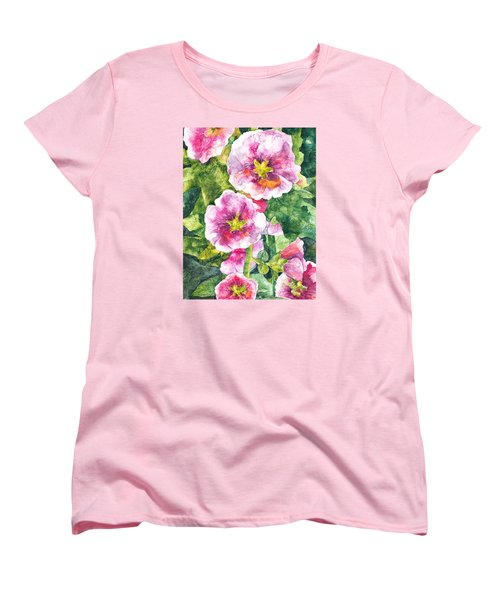 Secret Garden Women's T-Shirt (Standard Cut) by Casey Rasmussen White