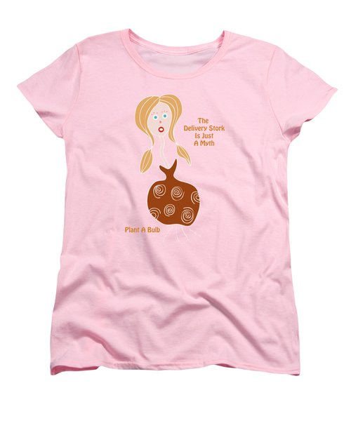 See What Pops Up Women's T-Shirt (Standard Cut) by Frank Tschakert