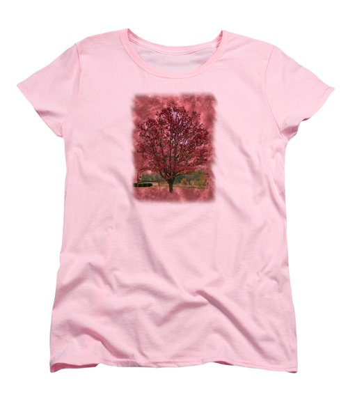 Seeing Red 2 Women's T-Shirt (Standard Cut) by John M Bailey