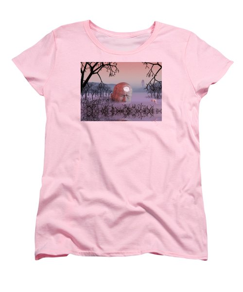 Seeking The Dying Light Of Wisdom Women's T-Shirt (Standard Cut)