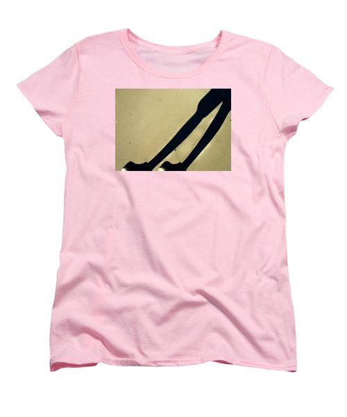 Women's T-Shirt (Standard Cut) featuring the photograph Self-deception by Lenore Senior