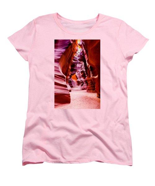 Serene Light Women's T-Shirt (Standard Cut) by M G Whittingham