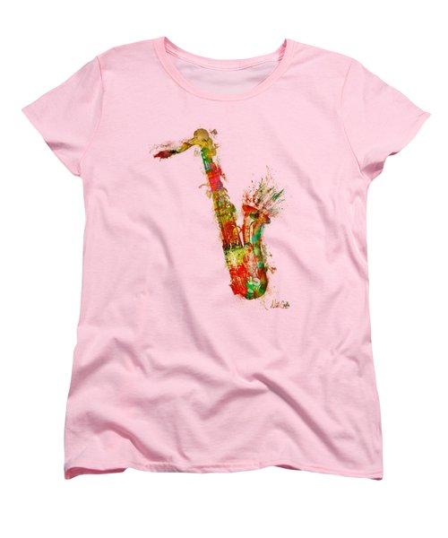Sexy Saxaphone Women's T-Shirt (Standard Cut)