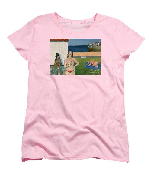 She Walks In Beauty Women's T-Shirt (Standard Cut) by Paul McKey