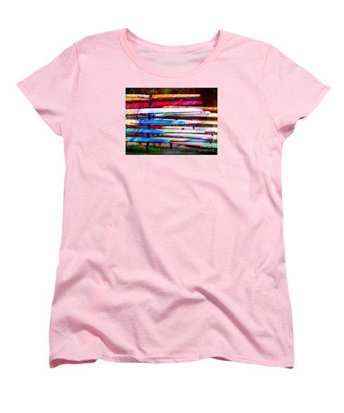 Shells At Henley Women's T-Shirt (Standard Cut) by Judi Bagwell