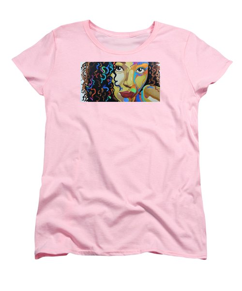 She's Complicated Women's T-Shirt (Standard Cut) by William Roby