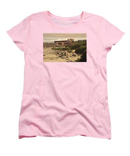 Shipwrecked Women's T-Shirt (Standard Cut) by Patrick Kain