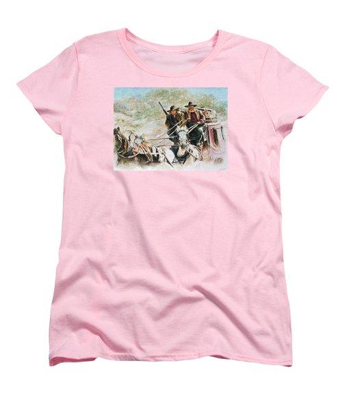 Shot Gun Women's T-Shirt (Standard Cut) by Traci Goebel