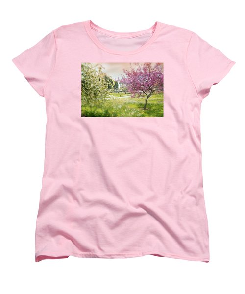 Women's T-Shirt (Standard Cut) featuring the photograph Silent Wish You Make by Diana Angstadt