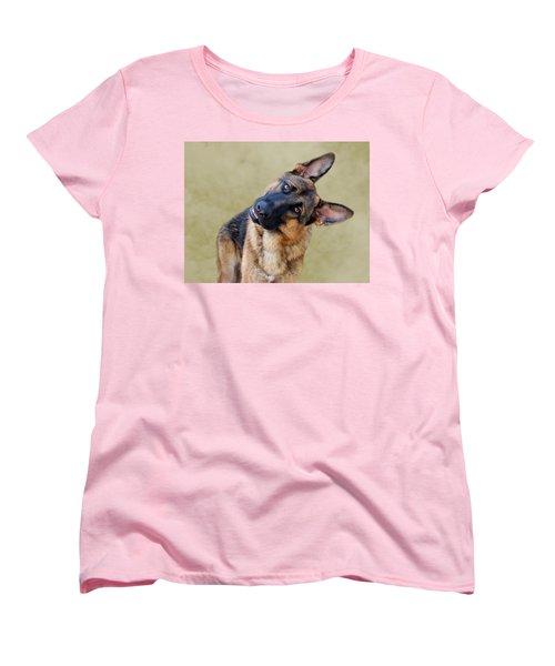 Silly Boy Women's T-Shirt (Standard Cut) by Sandy Keeton