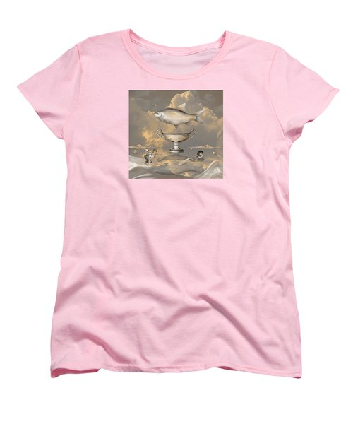 Silver Mood Women's T-Shirt (Standard Cut) by Alexa Szlavics