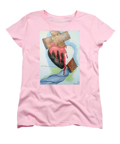 Sin Washer Women's T-Shirt (Standard Cut) by Loretta Nash