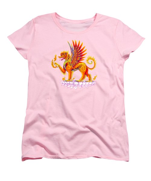 Singha Winged Lion Women's T-Shirt (Standard Fit)