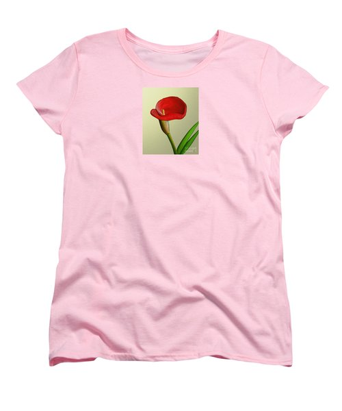 Single Pose Women's T-Shirt (Standard Cut) by Rand Herron
