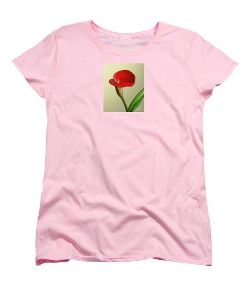 Single Pose Women's T-Shirt (Standard Cut)