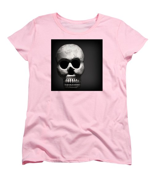 Skull Women's T-Shirt (Standard Cut) by Joseph Skompski