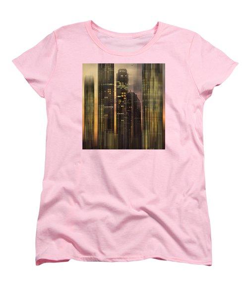 Women's T-Shirt (Standard Cut) featuring the photograph Sky Scrapers by Vladimir Kholostykh