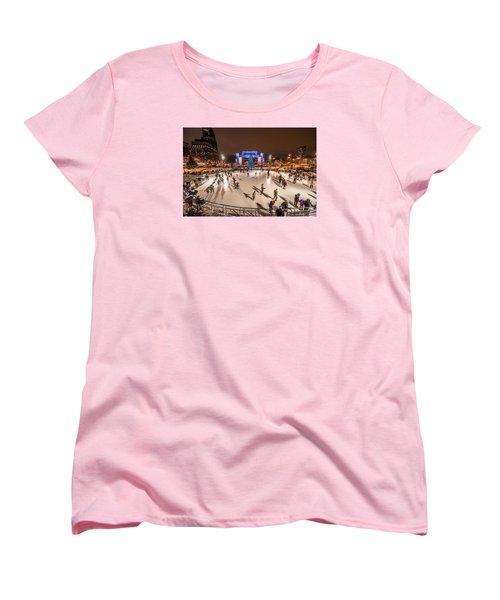 Slice Of Ice Women's T-Shirt (Standard Cut) by Randy Scherkenbach