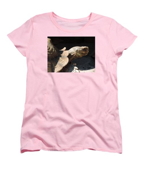 Women's T-Shirt (Standard Cut) featuring the photograph Slow But Sure by Teresa Schomig
